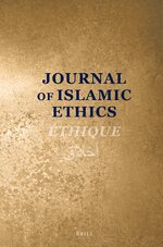 Cover Journal of Islamic Ethics