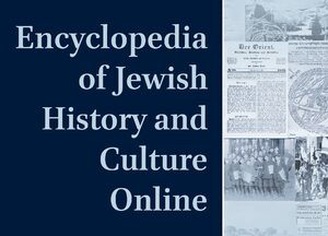 Cover Encyclopedia of Jewish History and Culture Online