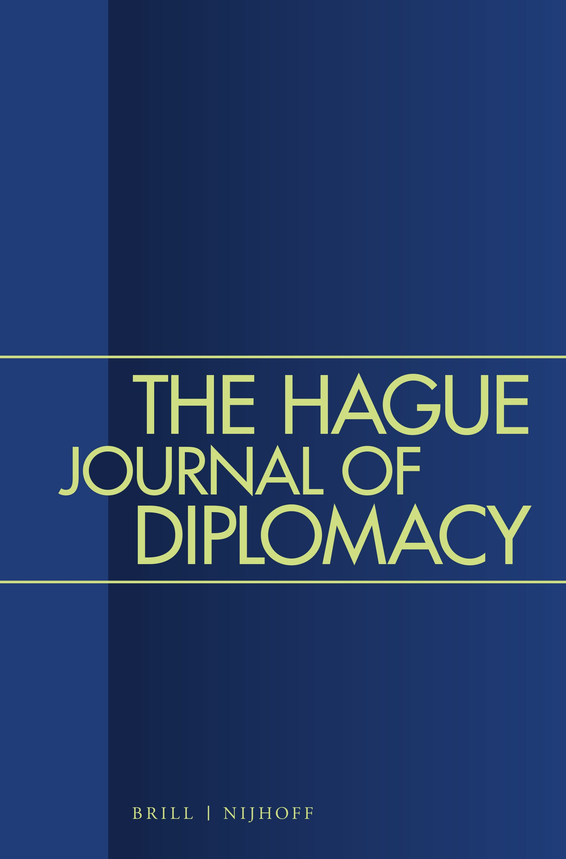 The Hague Journal Of Diplomacy Brill
