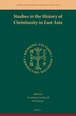 Cover Studies in the History of Christianity in East Asia