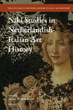 Cover NIKI Studies in Netherlandish-Italian Art History