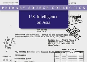 Cover U.S. Intelligence on Asia, 1945-1991