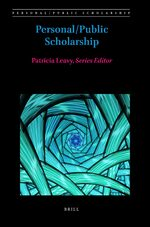 Cover Personal/Public Scholarship