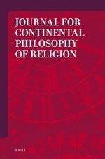 Cover Journal for Continental Philosophy of Religion