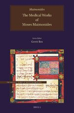 The Medical Works of Moses Maimonides