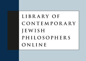Cover Library of Contemporary Jewish Philosophers Online