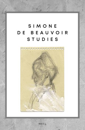 Cover Simone de Beauvoir Studies