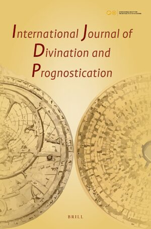 Cover International Journal of Divination and Prognostication