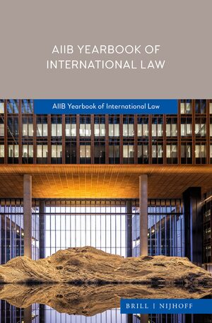 Cover AIIB Yearbook of International Law