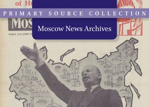 Cover Moscow News Archives