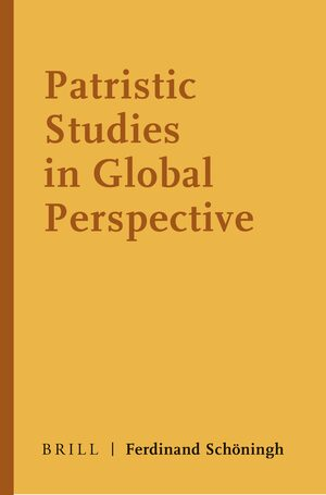 Cover Patristic Studies in Global Perspective