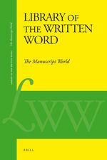 Cover Library of the Written Word - The Manuscript World