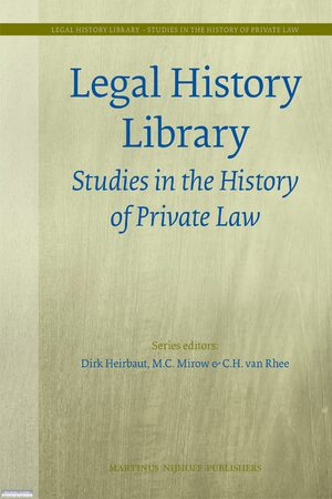 Cover Studies in the History of Private Law