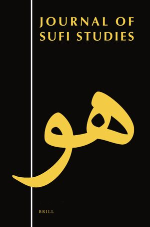 Cover Journal of Sufi Studies