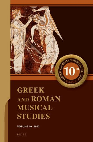 Cover Greek and Roman Musical Studies