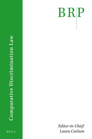 Cover Brill Research Perspectives in Comparative Discrimination Law