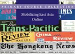 Cover Mobilizing East Asia Online