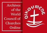 Cover Archives of the World Council of Churches Online