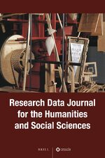 Cover Research Data Journal for the Humanities and Social Sciences
