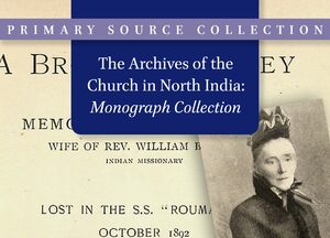 Cover The Archives of the Church in North India: Monograph Collection