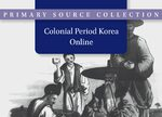 Cover Colonial Period Korea Online