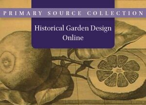 Cover Historical Garden Design Online