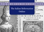 Cover The Italian Reformation Online