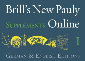 Cover Brill's New Pauly Supplements Online I & Der Neue Pauly Supplemente I Online