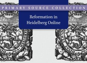 Cover The Reformation in Heidelberg Online