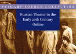 Cover Russian Theater in the Early 20th Century Online