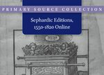 Cover Sephardic Editions, 1550-1820: Installments 1-3 Online