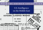 Cover U.S. Intelligence on the Middle East, 1945-2009