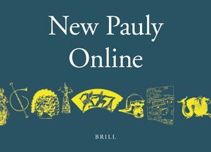 Cover Brill's New Pauly Online