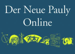 Cover Der Neue Pauly Online