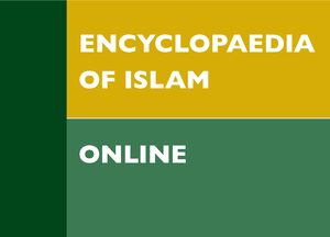 Cover Encyclopaedia of Islam Three Online