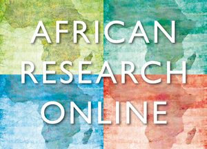 Cover African Research Online