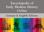 Cover Encyclopedia of Early Modern History Online & Enzyklopädie der Neuzeit Online