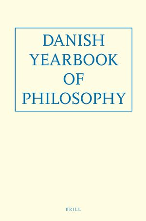 Cover Danish Yearbook of Philosophy