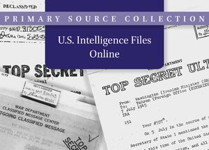 Cover U.S. Intelligence Files Online