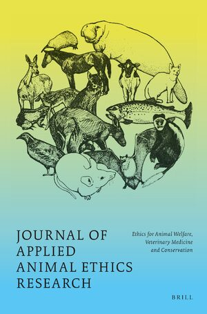 Cover Journal of Applied Animal Ethics Research