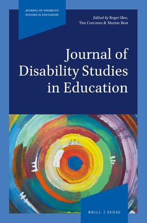 Cover Journal of Disability Studies in Education