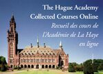 Cover Publications of the Hague Academy Online
