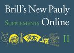 Cover Brill's New Pauly Supplements II Online – Volume 8