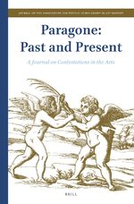Cover Paragone: Past and Present