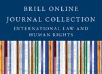 Cover 2019 Brill Online Journal Collection / International Law and Human Rights