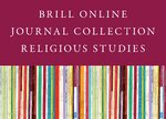 Cover 2019 Brill Online Journal Collection / Religious Studies