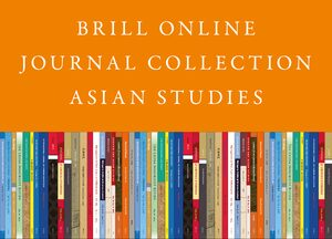 Cover 2020 Brill Online Journal Collection / 2020 Brill Asian Studies Journal Collection