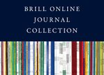 Cover 2020 Brill Online Journal Collection / 2020 Brill Journal Collection