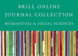 Cover 2020 Brill Online Journal Collection / 2020 Brill Humanities and Social Sciences Journal Collection