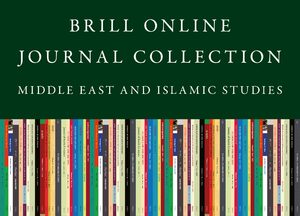 Cover 2020 Brill Online Journal Collection / 2020 Middle East & Islamic Studies Journal Collection